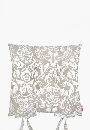 Подушка на стул Altali Арабеска. Цвет: бежевый