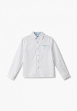 Рубашка Smena. Цвет: белый