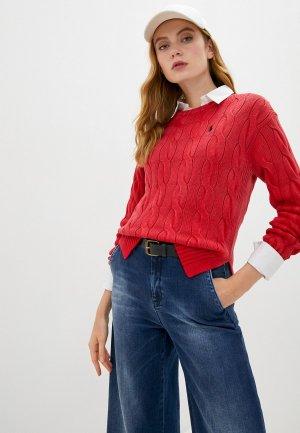 Джемпер Polo Ralph Lauren. Цвет: красный
