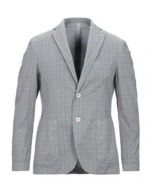 Пиджак FAG. Цвет: серый