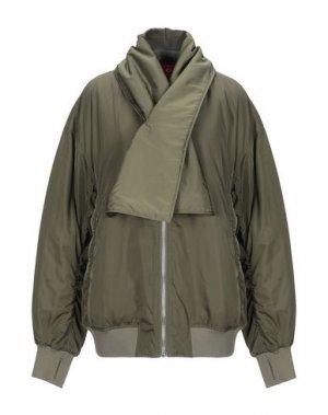 Куртка CHEAP MONDAY. Цвет: зеленый-милитари