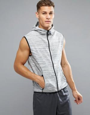 Спортивный жилет Active Threadbare. Цвет: серый