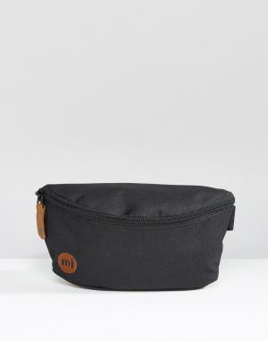 Классическая сумка-кошелек на пояс Mi-Pac. Цвет: черный