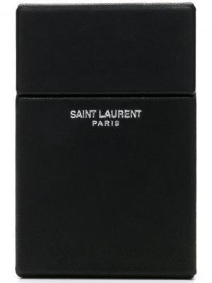 Товары для дома Saint Laurent. Цвет: черный