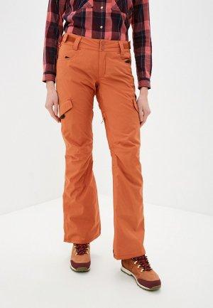 Брюки сноубордические Billabong NELA PNT. Цвет: оранжевый