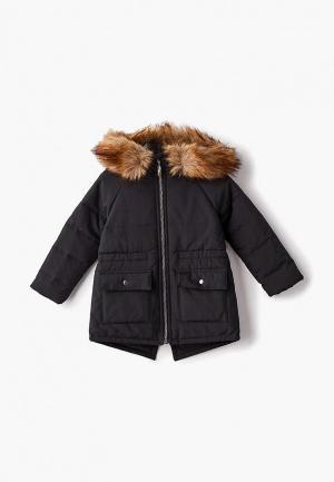 Куртка утепленная Intatika М48. Цвет: черный
