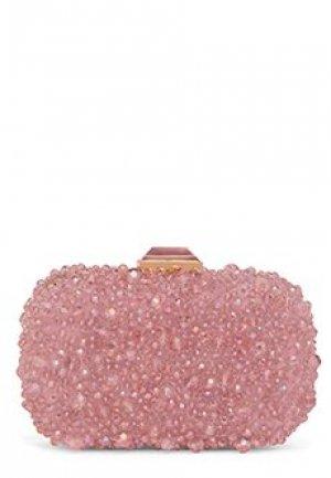 Клатч LUISA SPAGNOLI. Цвет: розовый