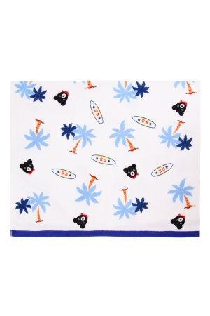 Детское пляжное полотенце MIKI HOUSE. Цвет: разноцветный