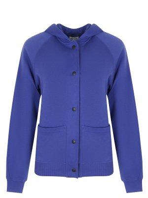 Куртка-бомбер хлопковая KENZO. Цвет: разноцветный