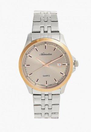 Часы Adriatica. Цвет: серебряный