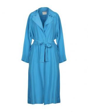 Легкое пальто MOMONÍ. Цвет: лазурный