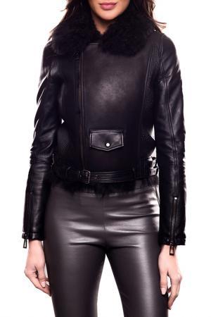 Куртка Giorgio. Цвет: noir