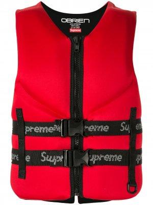 Спасательный жилет OBrien коллекции SS18 Supreme. Цвет: красный