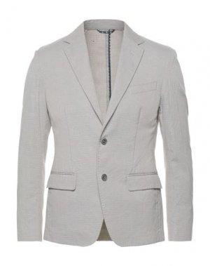 Пиджак SIVIGLIA. Цвет: голубиный серый