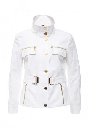 Куртка Michael Kors. Цвет: белый