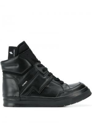 Высокие кроссовки Skin Cinzia Araia. Цвет: черный