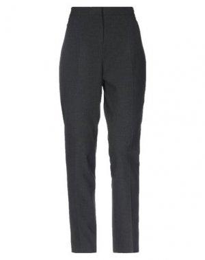 Повседневные брюки FUEGO WOMAN. Цвет: стальной серый