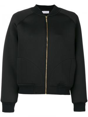 Куртка-бомбер Ioana Ciolacu. Цвет: черный