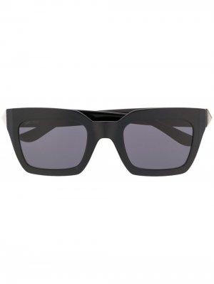 Солнцезащитные очки Maika Jimmy Choo Eyewear. Цвет: черный