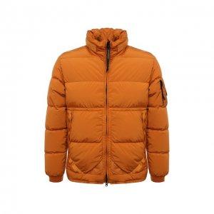 Пуховая куртка C.P. Company. Цвет: оранжевый