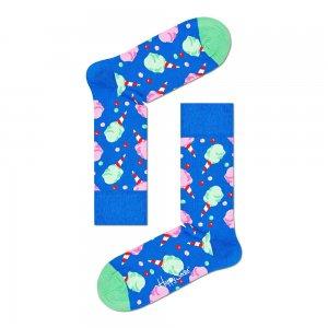 Cotton Candy Socks Happy. Цвет: голубой