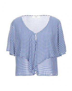 Pубашка SUOLI. Цвет: синий