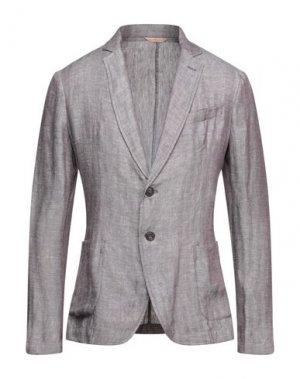 Пиджак TRUSSARDI JEANS. Цвет: розовато-лиловый