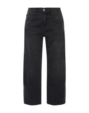 Джинсовые брюки-капри CURRENT/ELLIOTT. Цвет: стальной серый