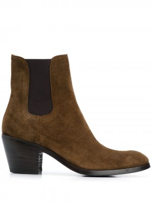 Suede ankle boots Alberto Fasciani. Цвет: коричневый
