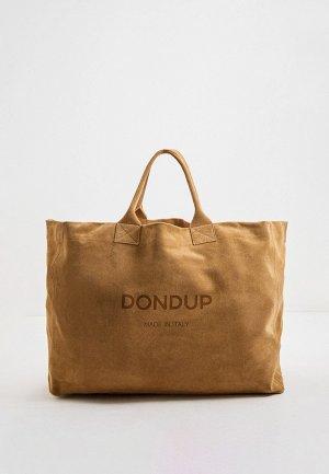 Сумка Dondup. Цвет: бежевый