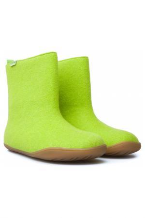 Валенки CAMPER. Цвет: зеленый