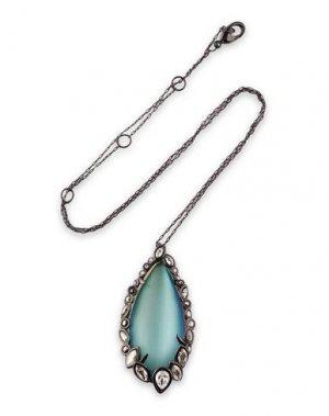 Ожерелье ALEXIS BITTAR. Цвет: небесно-голубой