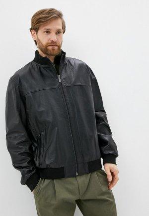 Куртка кожаная Jorg Weber IPR051S7/1. Цвет: черный