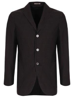 Пиджак из шерсти и шелка BOGLIOLI