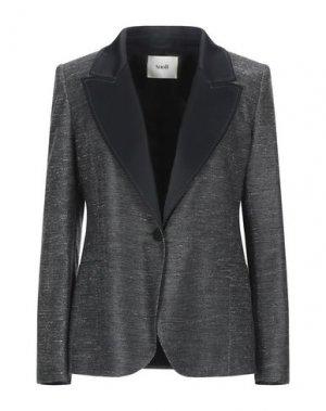 Пиджак SUOLI. Цвет: черный