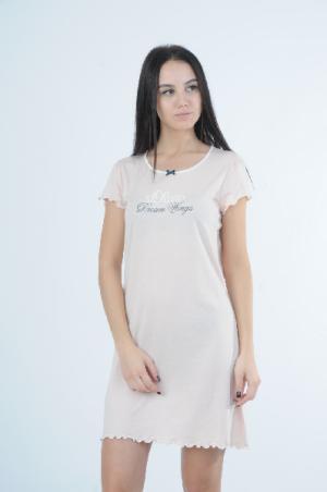 Ночная сорочка S.OLIVER. Цвет: розовый