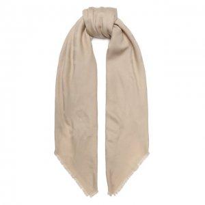 Шерстяная шаль Chantal Balmuir. Цвет: бежевый