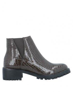 Полусапоги и высокие ботинки GIANMARCO VENTURI. Цвет: темно-зеленый