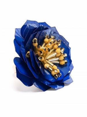 Blossom appliqué ring La Doublej. Цвет: золотистый