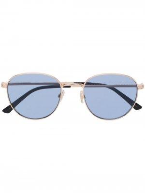 Солнцезащитные очки Henri Jimmy Choo Eyewear. Цвет: золотистый
