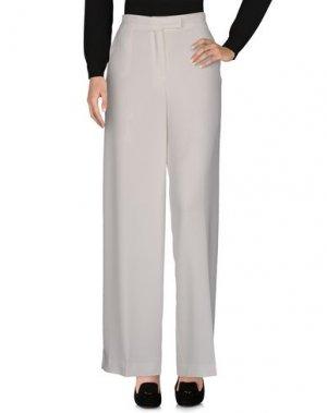 Повседневные брюки FRANCESCA PICCINI. Цвет: белый