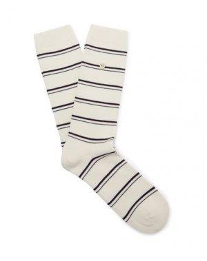 Короткие носки FOLK. Цвет: белый
