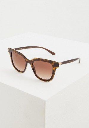 Очки солнцезащитные Dolce&Gabbana DG4362 502/13. Цвет: коричневый
