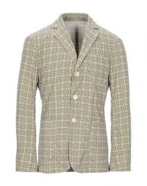Пиджак EAST HARBOUR SURPLUS. Цвет: зеленый-милитари