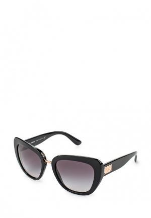 Очки солнцезащитные Dolce&Gabbana DG4296 501/8G. Цвет: черный