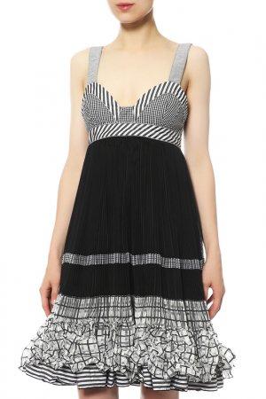 Платье Isola Marras. Цвет: черный, белый