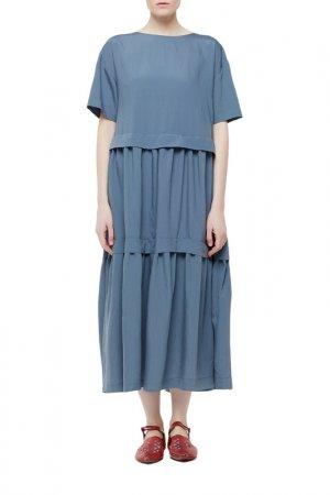 Платье Cyrille Gassiline. Цвет: голубой