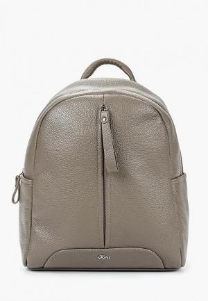 Рюкзак Franchesco Mariscotti. Цвет: серый