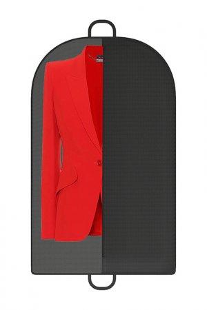 Чехол для одежды 100*60см HOMSU. Цвет: черный