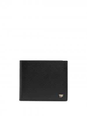 Складной кошелек TOM FORD. Цвет: черный